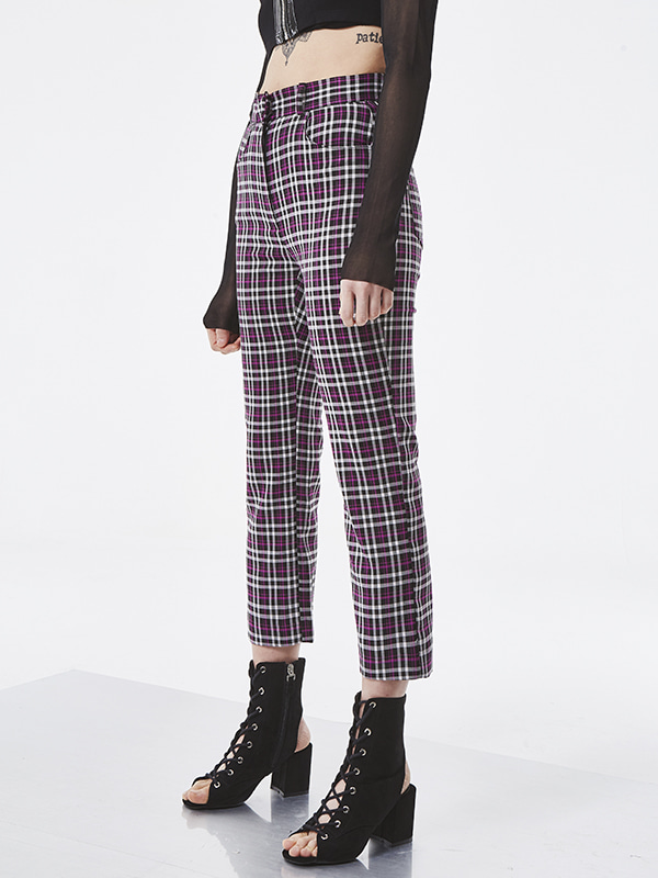 SALE PROJECT - PURPLE CHECK PANTS