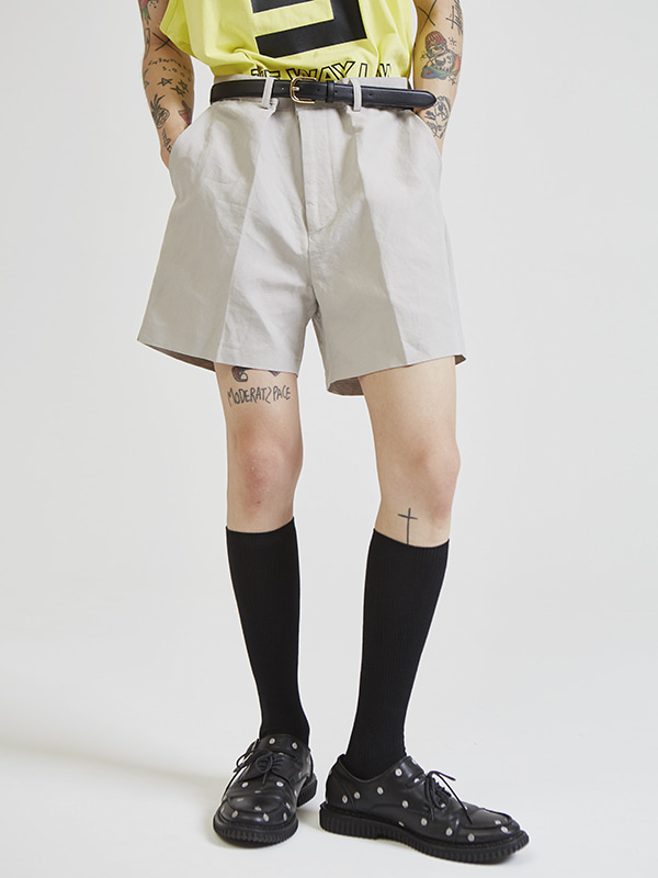 linen shorts pants (3 color) - UNISEX