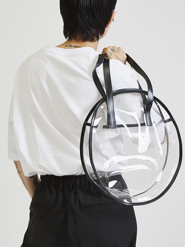 SALE round pvc bag (2 color)