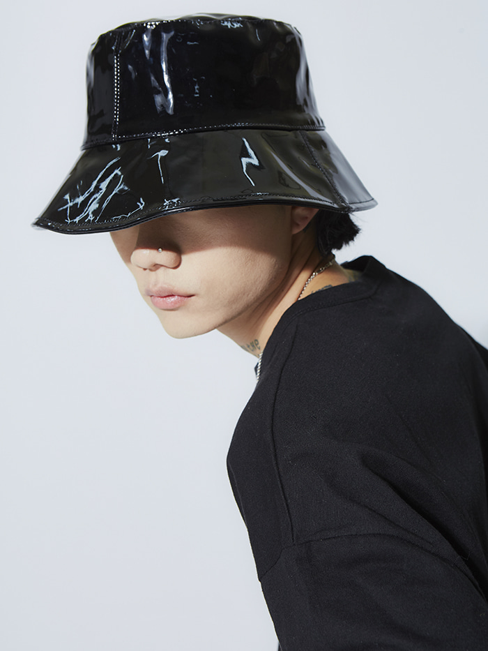 enamel bucket hat