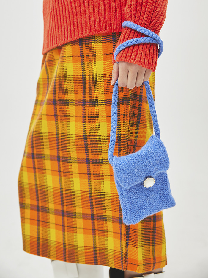 knitting cross petit bag (6 color)