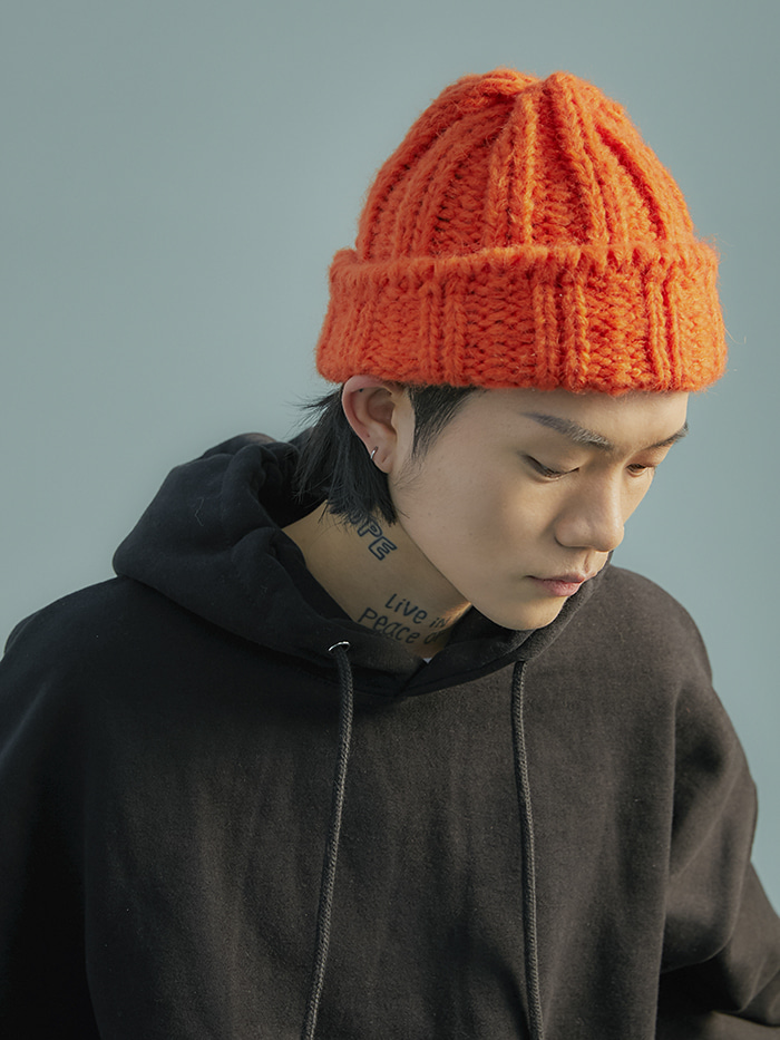 alpaca color beanie (5 color)