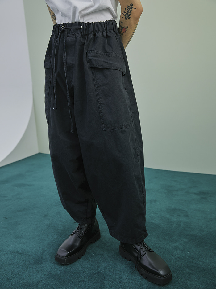 over-fit balloon pants (2 color) - UNISEX