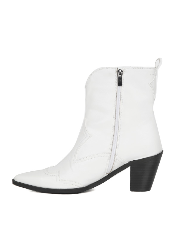 western ankle boots (2 color)