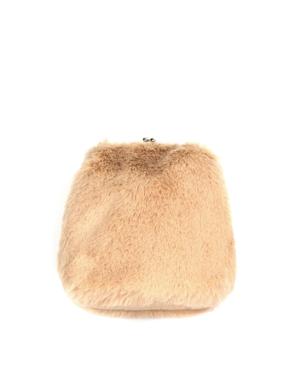 fur clutch mini bag (3 color)