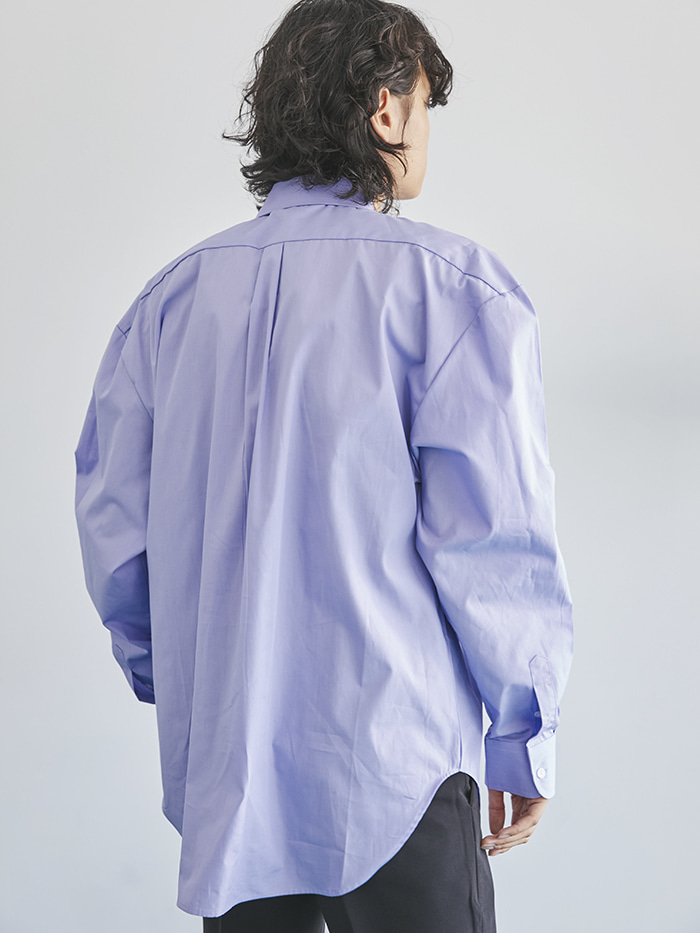 oversized pastel shirts (4 color) - men