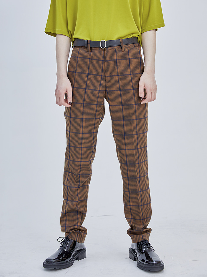 check vintage slacks (2 color) - men