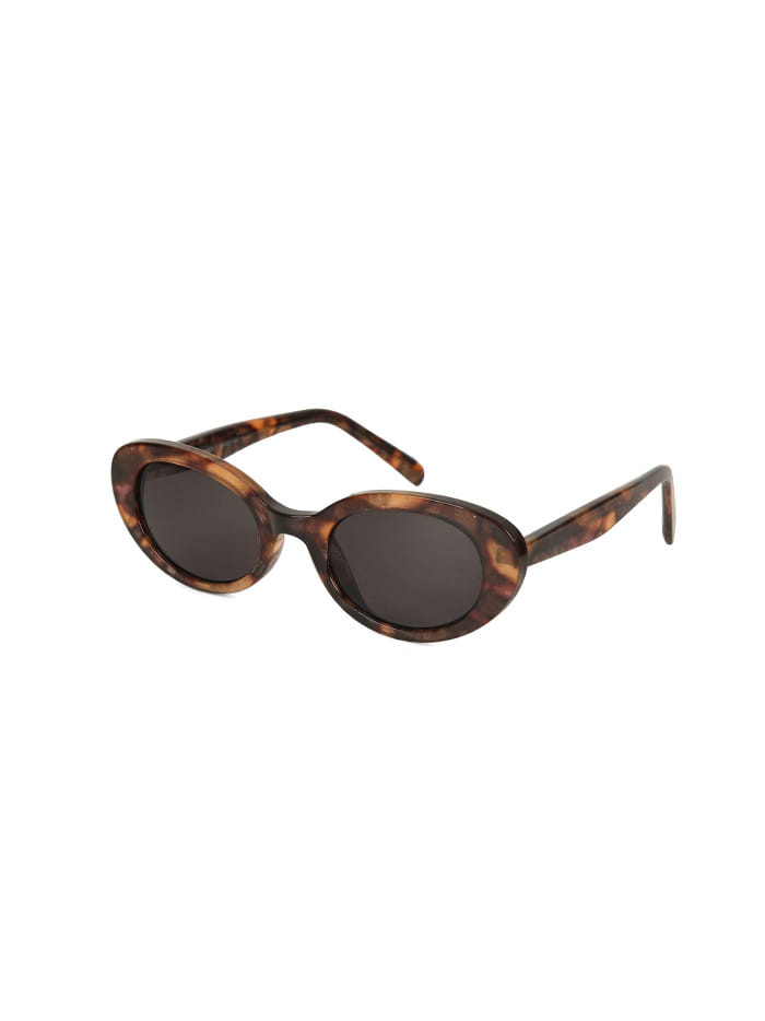 oval sunglasses (3 color)
