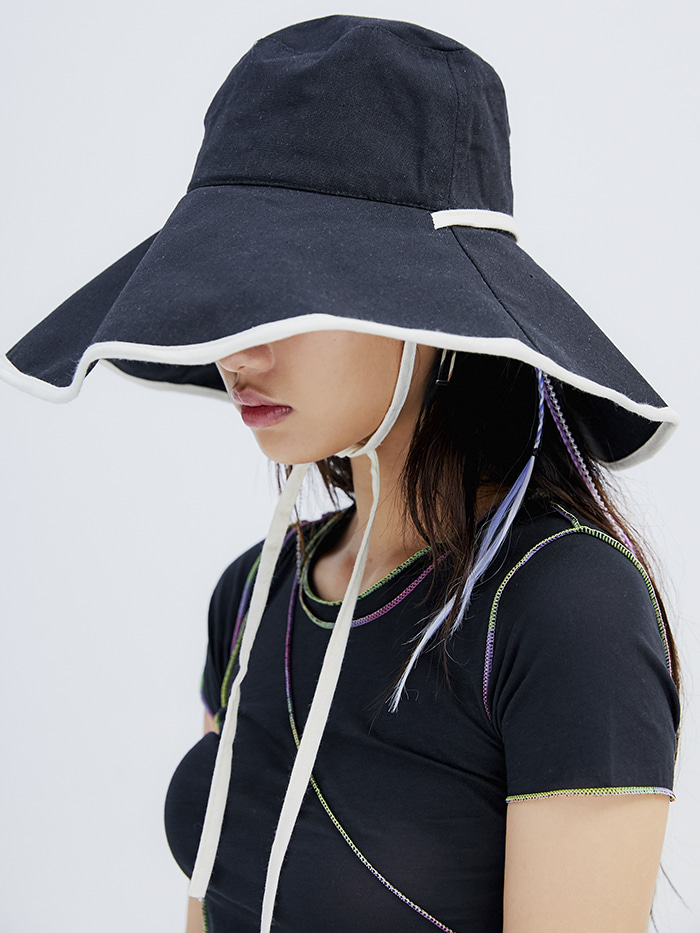 strap floppy hat (5 color)