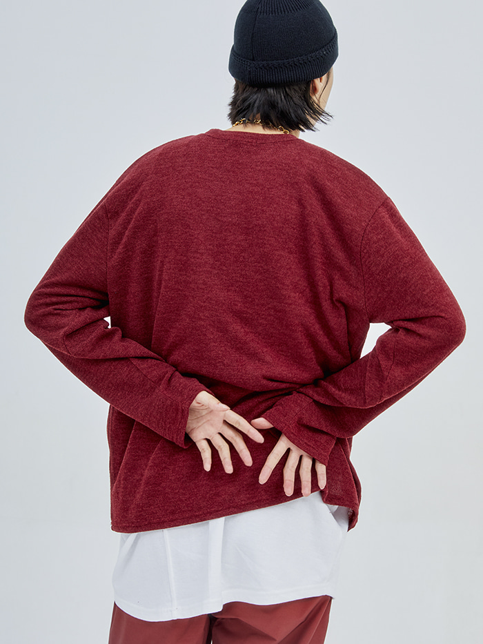 regular-fit simple knit (8 color)
