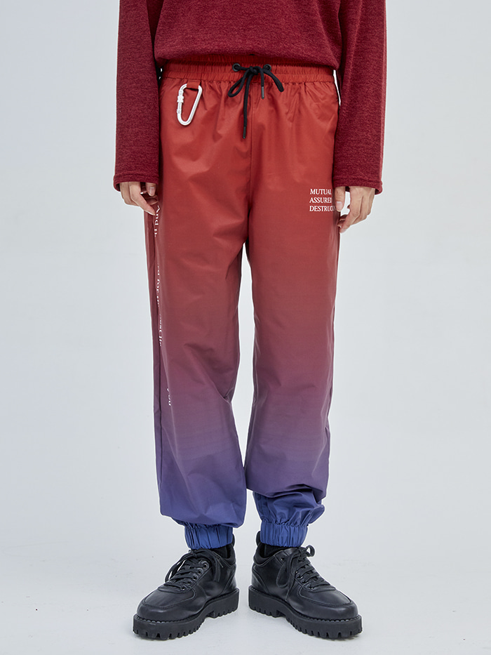 lettering gradation jogger pants (2 color) - 09/30일 입고예정