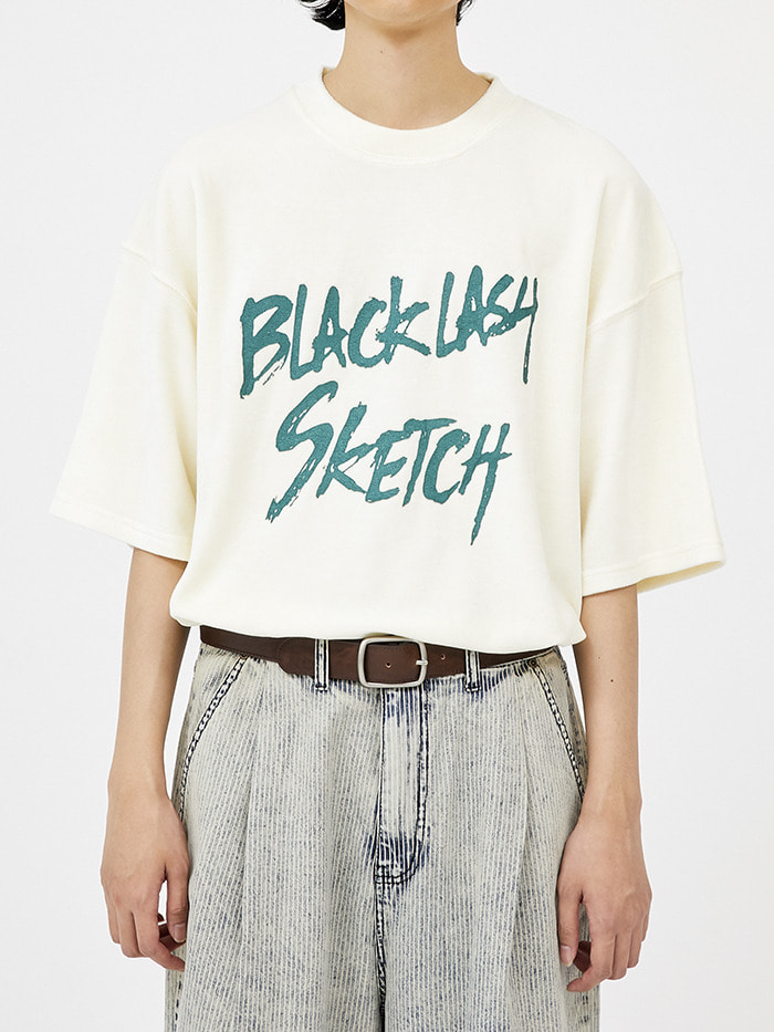 sketch velour 1/2 T (4 color) - men