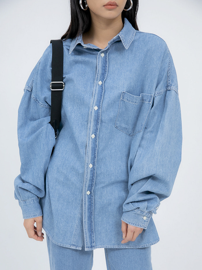 denim over shirts - men