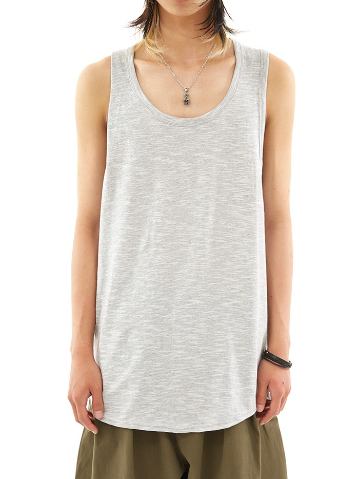 loose-fit basic sleeveless (3 color)