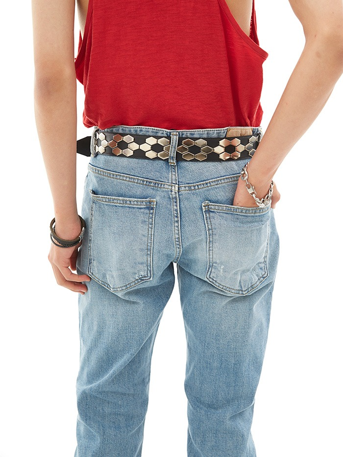 turtle stud belt (2 type)