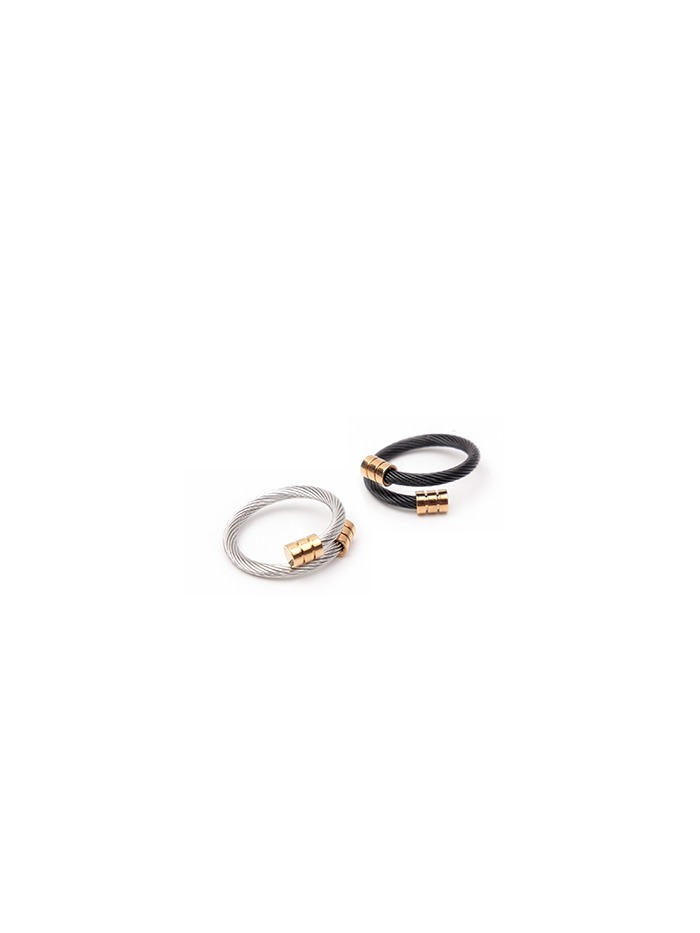 gold point ring (2 color)