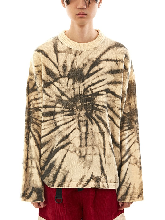 ink printing knit (2 color)