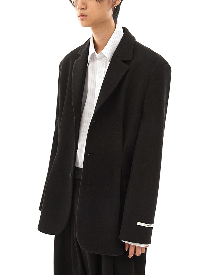 over-fit dart blazer (2 color)