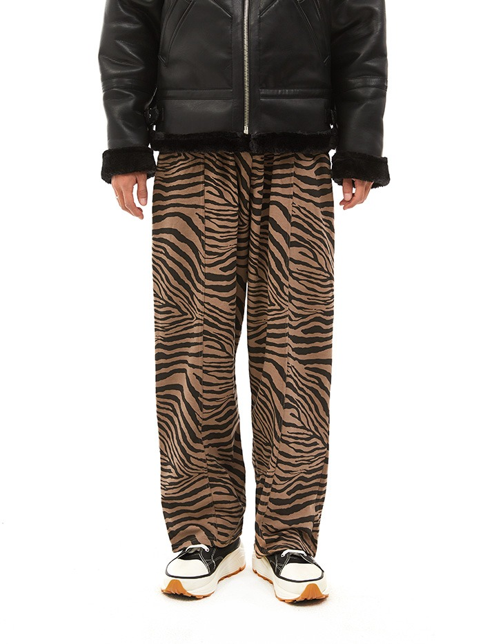 zebra cotton pants (2 color)