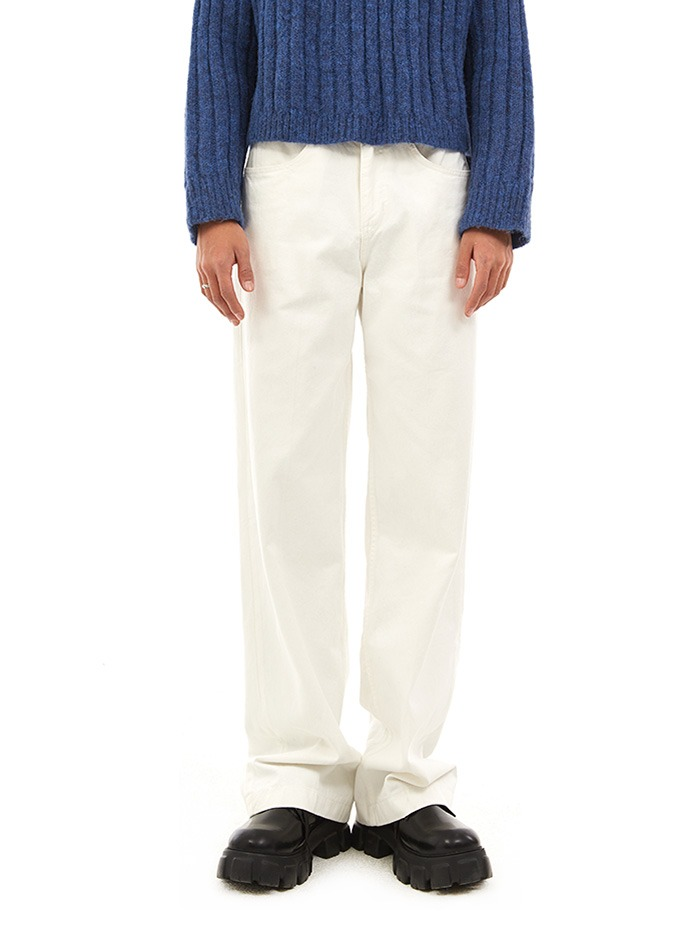 wide comfy pants (2 color)