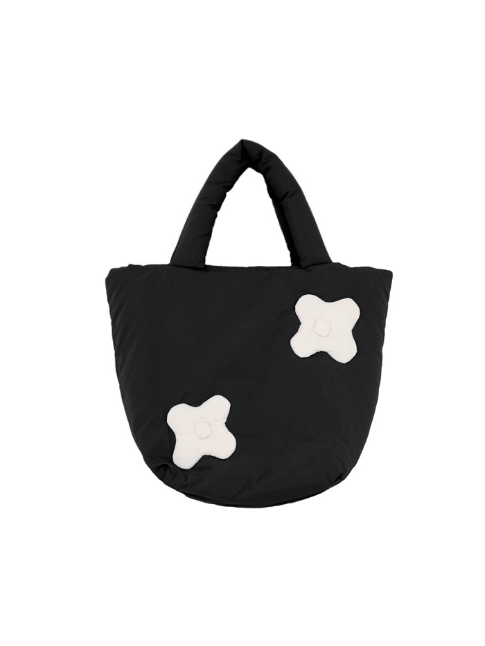 flower patch padding mini bag