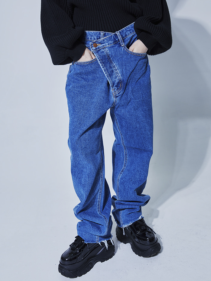 unbalance lab denim pants