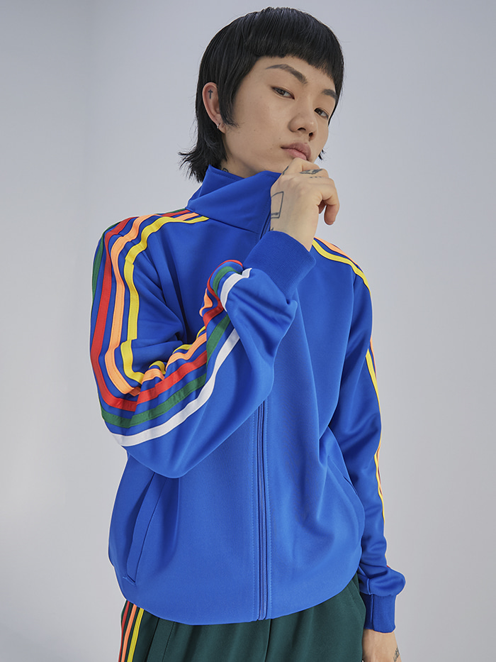 5 line Jersey tracktop (4 color) - UNISEX