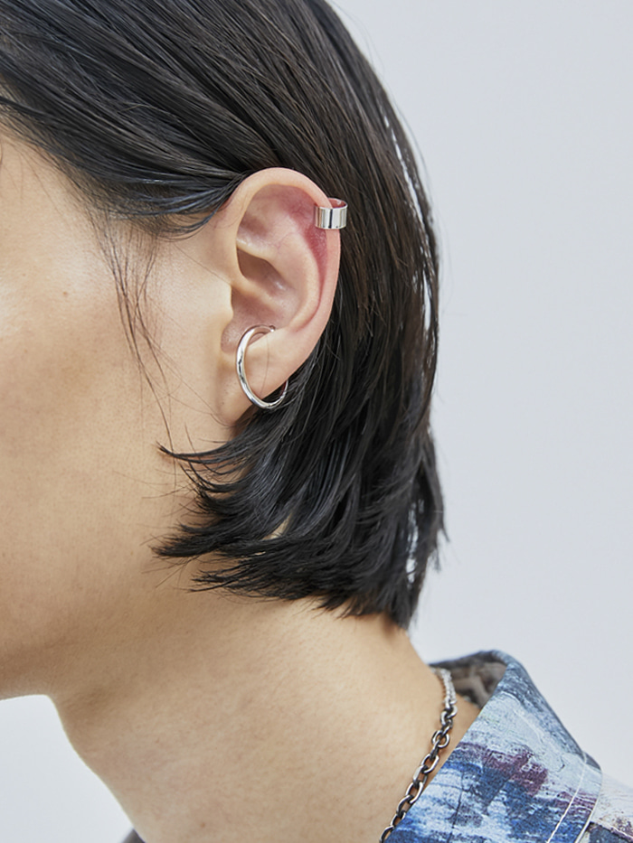 hoop ear cuffs (2 color)