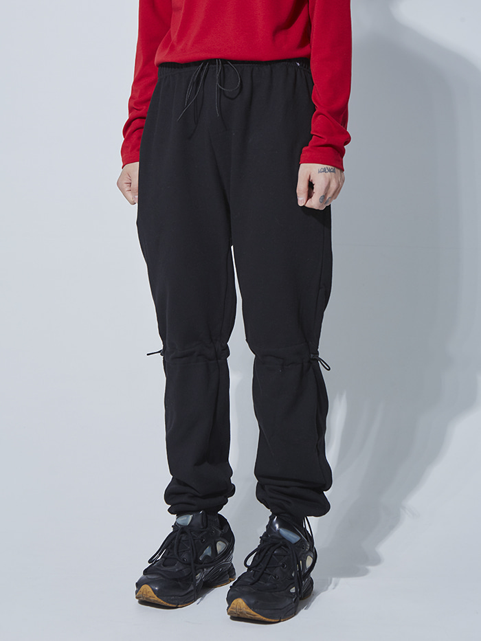 pointed string track pants (3 color) - UNISEX