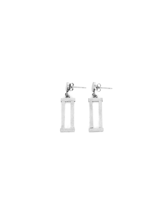 roman numerals earring
