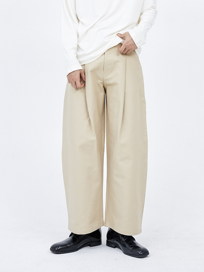 pintuck chino pants (2 color) - men