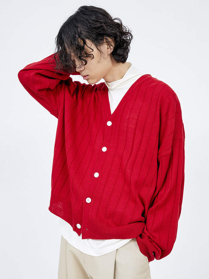 lambswool golgi cardigan (5 color) - men