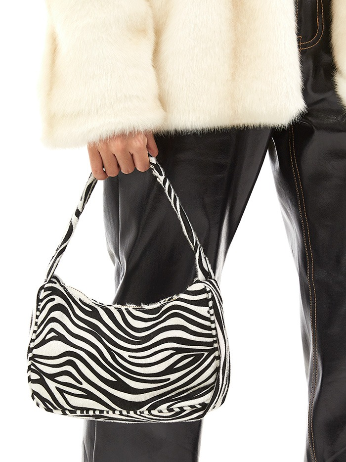 animal pattern tote bag (2 color)